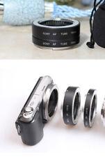 2x Tube bague extension Macro 10mm 16mm autofocus pr Sony Nex objectif E-mount