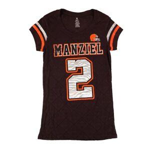 Johnny Manziel NFL Cleveland Browns Player Jersey T-Shirt Youth Girls (XS-XL)
