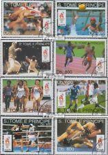 Sao Tome e Principe 1451-1458 gestempeld 1993 Spelen Zomer ´96