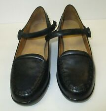 "NEW! DR COMFORT ""Cathy"" Black Leather Size 5- Diabetic design-Cute!!"
