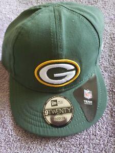 New Era Green Bay Packers Toddler Hat On-Field 9Twenty