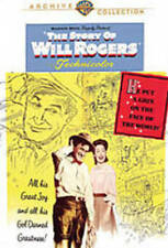 THE STORY OF WILL ROGERS NEW DVD