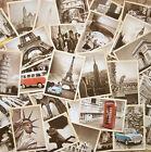 32 pcs Vintage Retro Posters Old Travel Postcards Wall Decoration Cards Set - E