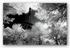 TRAVEL POSTER Tour Eiffel David Noton