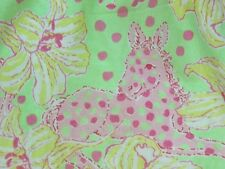 Lilly Pulitzer Women Sz 0 Dress Fillies for Lillies Halter Polka Dots Carmen
