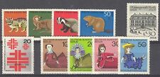 BUNDESPOST BERLIN - 1968 complete year MNH