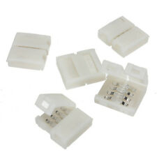 5pcs Pack 10mm 4-Conductor PCB Connection Box RGB LED Strip to Strip Connector