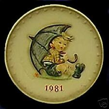 "M.I. HUMMEL.     ""UMBRELLA BOY PLATE"""