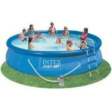 New listing Intex Easy Set 15 foot x 33 inch Above Ground Pool Set - Blue