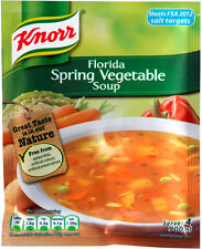 KNORR FLORIDA SPRING VEGETABLE SOUP 9 X 48G