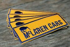 Mclaren Cars Iron on patch F1 Can Am 1960s Mb8