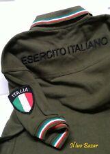 Polo militare Esercito  Italiano  Defcom 5 con patc tg. L militaria
