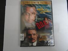 3-Full Length Features-Man with The Golden Arm-D.O.A.-David Copperfield DVD NEW