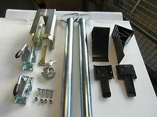 AVB Paket Anhänger Stützen  600 mm, ALBE Safety-Box , Keile schwarz Schra #1552#