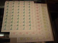 Bund 1206+1207+1208 je Bogen komplett postfrisch Sport 1984 Olympiade