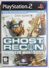 COMPLET jeu GHOST RECON ADVANCED WARFIGHTER pour playstation 2 PS2 francais fps