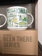 """Starbucks """"Been There Series"""" Iowa Mug"""