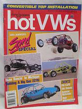 Dune Buggies and Hot VWs Magazine October 1990 Volkswagen Sand Special