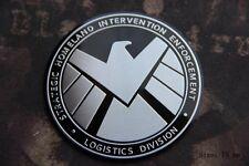 D985 Adel eagle Aufkleber Auto 3D Emblem Car Sticker Badge Alu rund