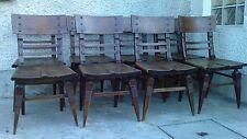 8 chaise moderniste art deco style serrurier bovy metal riveté SAINT GENIS LAVAL