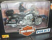 standmod. 24 ** Harley-Davidson ** 2004 flhtpi Electra Glide Police ** maisto neu*1