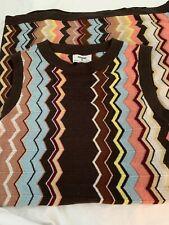 MISSONI for Target XXO Womens Chevron Zig Zag Sleeveless Sweater Dress Small NWT