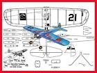Model Airplane Plans (UC): Li'l Jumpin' Bean ½A Stunt by Carl Goldberg