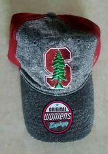 Stanford Cardinal Womens Hat Zephyr Red Adjustable Cap Embroidered Logo New