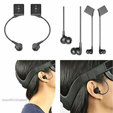 VR Headset In-Ear Headphones Spare Part for Oculus Rift CV1 Earphone Accessories