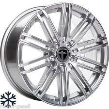 Tomason TN18 Bright Silber 8.5x19 Lochkreis 5x112 e46 passend für Mercedes