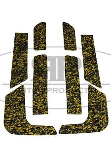 Sea-Doo 1993 1994 1995 1996 XP SPX SPI SP Traction Mat Kit foot pads Yellow Camo
