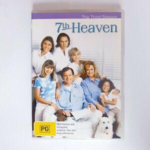 7th Heaven Season 3 DVD TV Series Free Postage Region 4 AUS