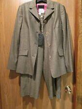 Dolce & Gabbana 2 Piece Wool Pant Suit Size 42