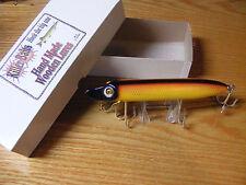 """Killer Baits Rusty Jessee Heddon Style 8"""" Musky Glasseye Vamp Grasshopper Color"""