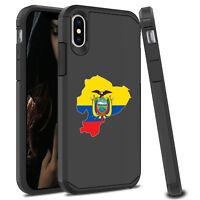 For Apple iPhone X XS MAX XR Shockproof SI Hard Case Cover Protector Ecuador