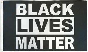 Black Lives Matter Flag 3x5 BLM Protest flag Large Rally Flag BLM Movement