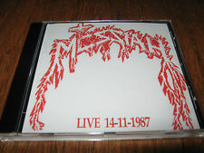 "MESSIAH ""Live 14/11/87"" CD pestilence morgoth"