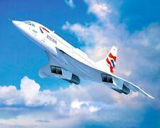 "10"" x 8"" BRITISH AIRWAYS CONCORDE SUPERSONIC AIRCRAFT METAL PLAQUE TIN SIGN N076"