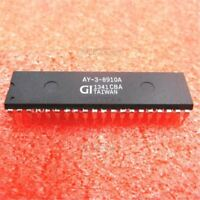 5Pcs Sound Generator AY-3-8910A Programmable DIP40 Ic New vo