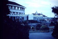 Vintage Kodak Kodachrome Negative Slide Image - Cafe, Garden, B&B Hotel , 1970s