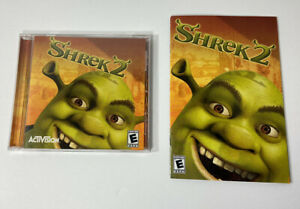 Shrek 2 (PC, 2004) Activision with Manual VGC ~ Free Shipping
