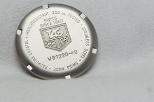 Genuine Tag Heuer Stainless Steel Caseback Reference WG1220-K0 SEL