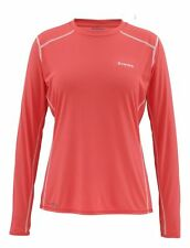 Simms Women's SOLARFLEX Long Sleeve Crewneck ~ Blossom NEW ~ Large ~ CLOSEOUT
