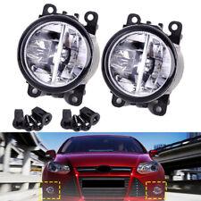 Front Left & Right Fog Lamp Daytime Running Lights For Ford Focus Honda Subaru