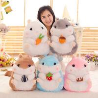 "1pc Kids Cute Hamster Stuffed Animal Plush Toy Soft Toy Doll Birthday Gift 14.8"""