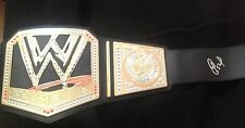 Detroit Tigers YOENIS CESPEDES  Signed WWE Replica Championship Belt