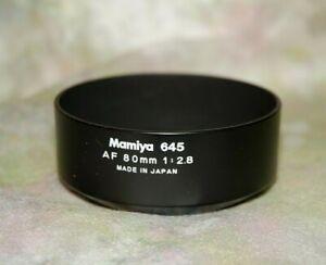 Mamiya Lens Hood for 645AF 80mm f2.8 Auto Focus Lenses  New!