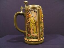 Gerz Beer Stein with Four Seasons Depictions