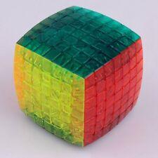 Aofu 7x7x7 Stickerless Transparent Ultra-smooth Magic Cube Twist Puzzle Kids Toy