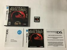 Ultimate Mortal Kombat Nintendo DS CIB Complete Authentic Tested